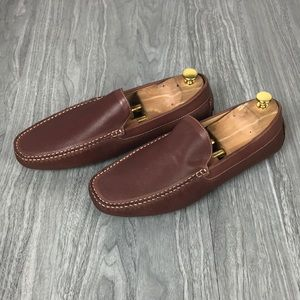 NWT Zanzara Loafers Venetian Driving Shoe Brown
